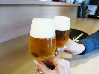 14-1-9 ビア乾杯