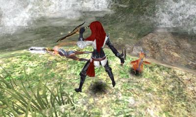 堕天使の銃剣コスと長剣コス、特短コス。
