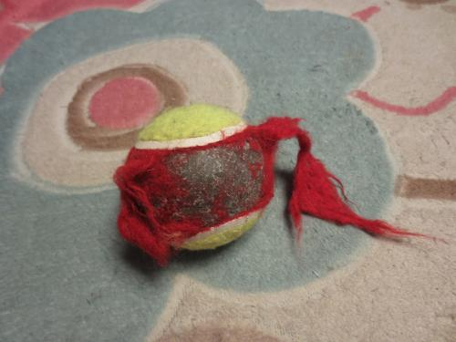 破壊っ娘に壊されたボール