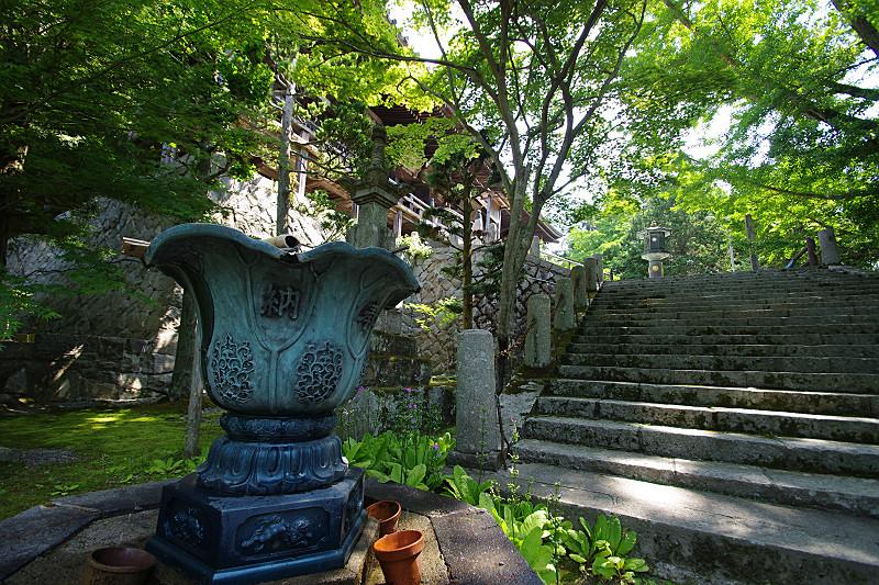 播州清水寺・講堂下の水盤