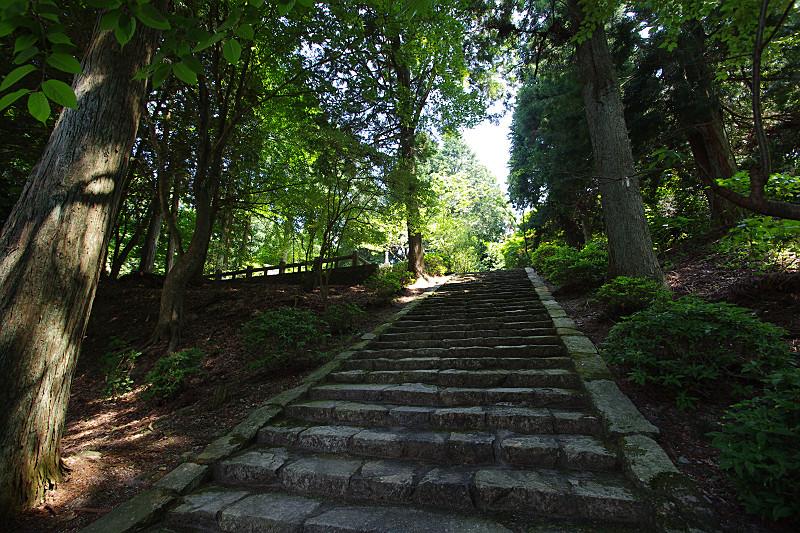播州清水寺・塔への石段