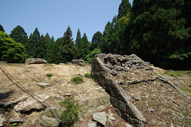 播州清水寺・塔の跡