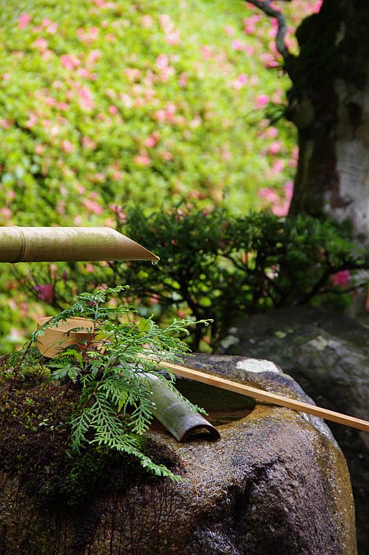 大池寺手水鉢