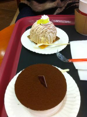 85度ケーキ
