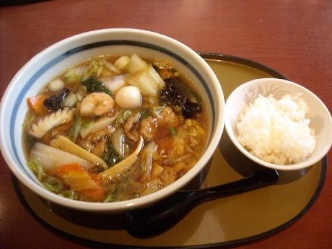 さんぽう亭・五目うま煮麺