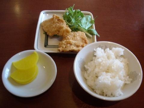 さんぽう亭・若鶏の唐揚げセット