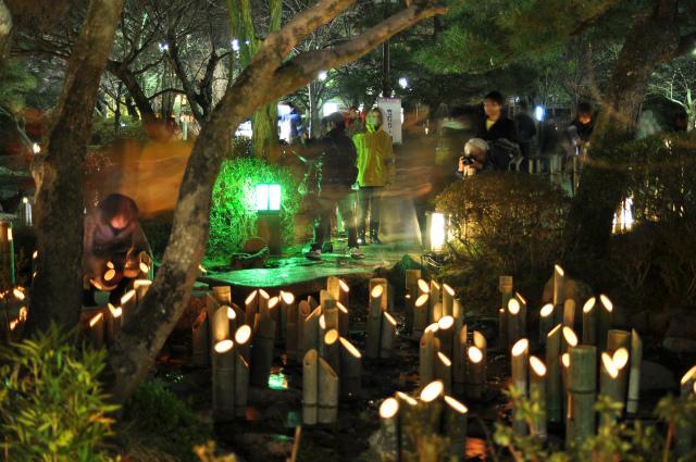 京都・花灯路とチョコ灯路 087