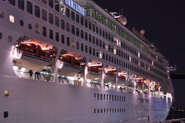 大阪港 豪華客船 032