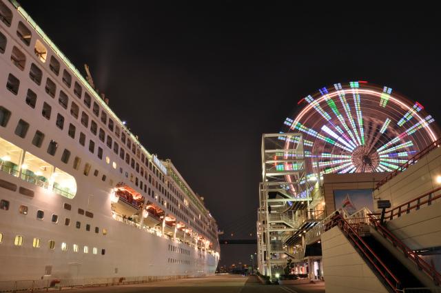 大阪港 豪華客船 057