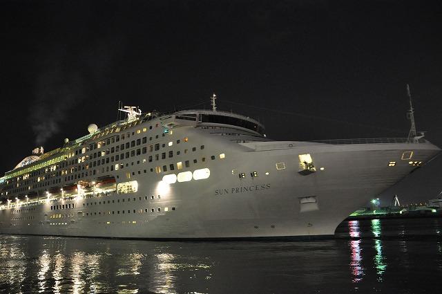 大阪港 豪華客船 074