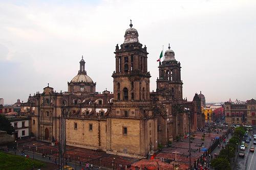 メキシコ青いタイルの家 (2)