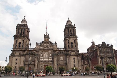 メキシコ青いタイルの家 (4)