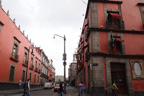 メキシコ青いタイルの家 (9)