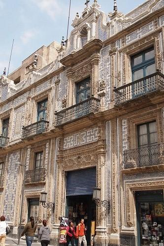 メキシコ青いタイルの家 (19)