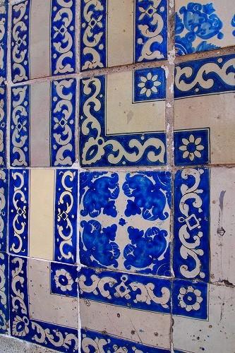 メキシコ青いタイルの家 (23)