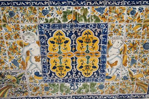 メキシコ青いタイルの家 (27)