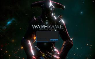 WarFrame_タイトル画面