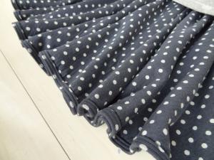 スカート裾