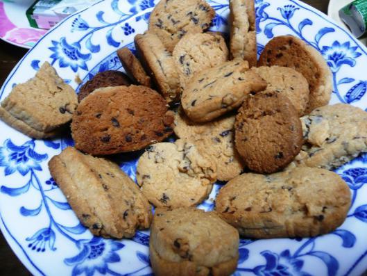 あずききな粉クッキー