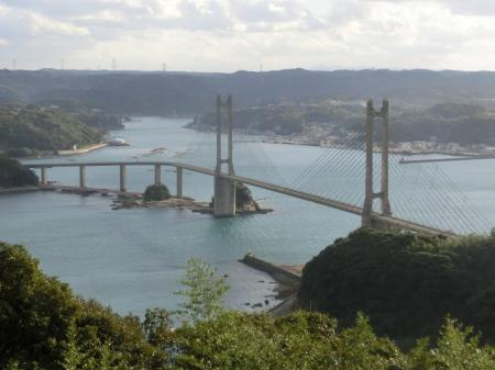 展望台から大橋