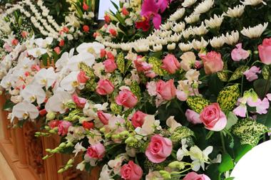 バラ花祭壇4846