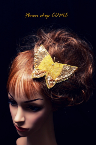 成人式 髪飾り 蝶