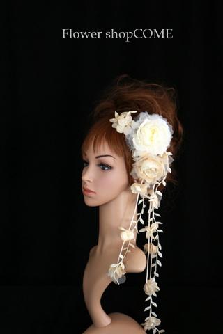シフォン 髪飾り