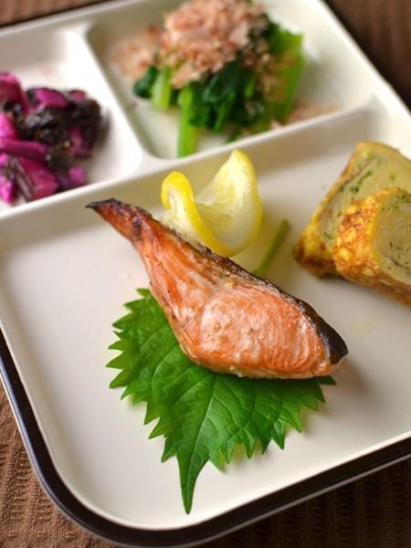 秋鮭の生姜焼き