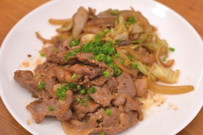 味噌生姜焼き