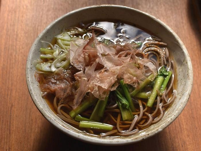 小松菜蕎麦
