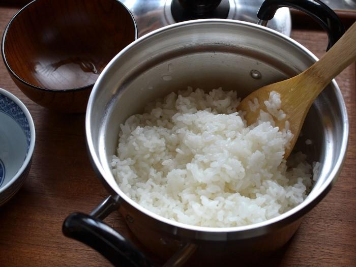 文化鍋炊飯