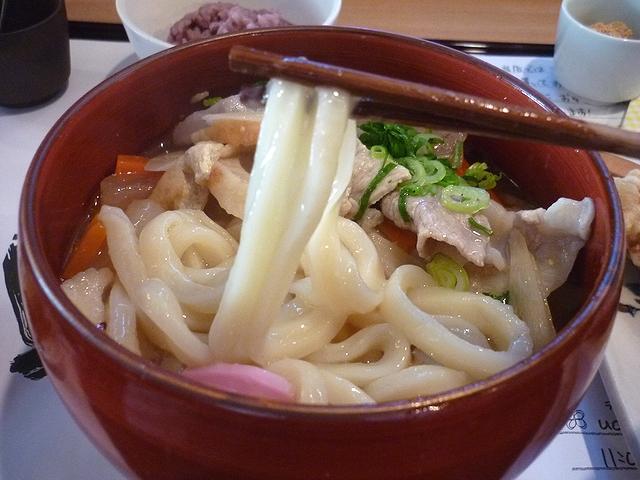 しっぽくうどんの麺