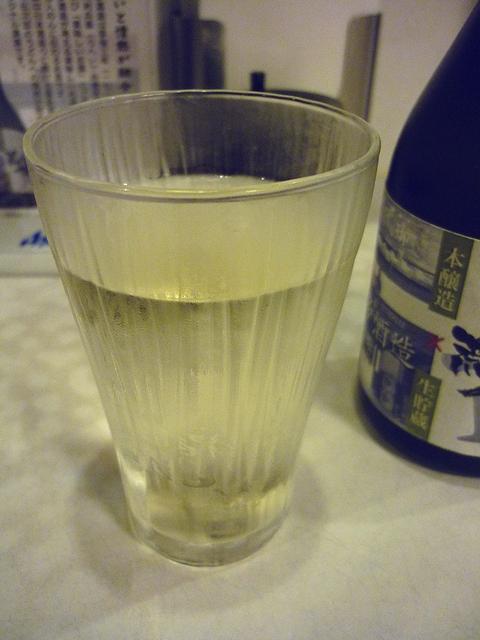 オリジナル清酒のグラス