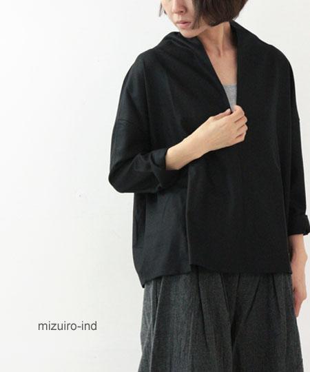 mizuiro ind (ミズイロインド) ハイネックプルオーバー