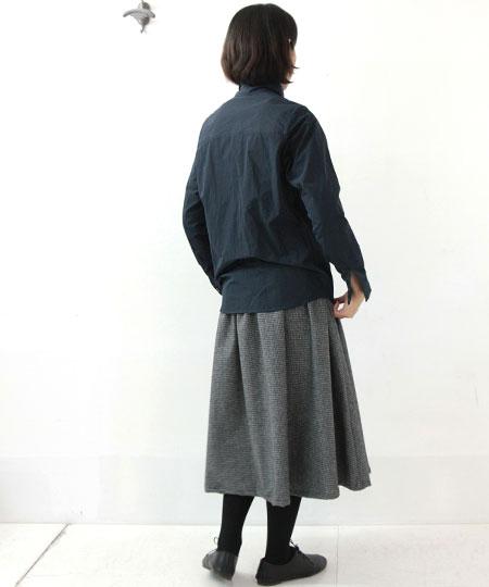 nisica / ニシカ コットンポリタートルネックシャツ