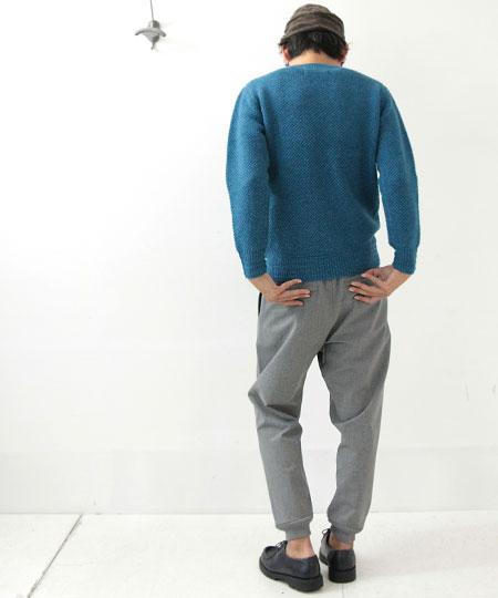 nisica (ニシカ) クルーネックセーター