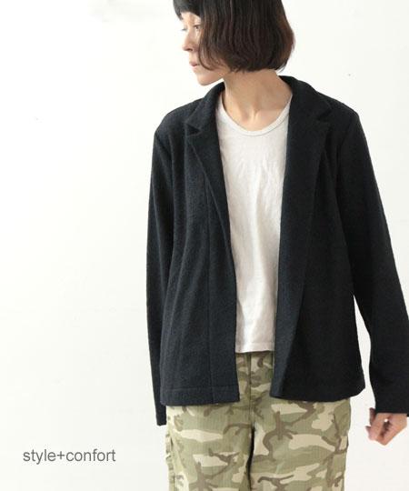 style + confort (スティールエコンフォール) ブークレショートジャケット