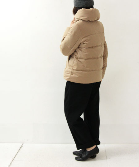 ESPEYRAC (エスペラック) ショールカラーショートダウンジャケット