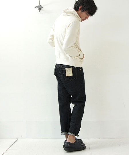 YAECA (ヤエカ) DENIM PANTS CROPPED