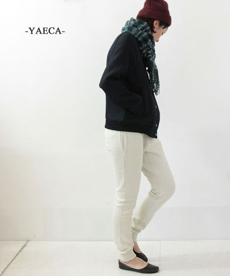 YAECA / ヤエカ STOCK sweat pants WOMEN SIZE