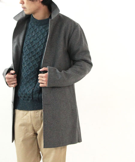 Kerry Woollen Mills (ケリーウーレンミルズ) Aran Crew Neck Sweater
