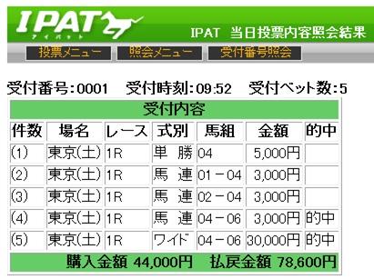 東京1R02