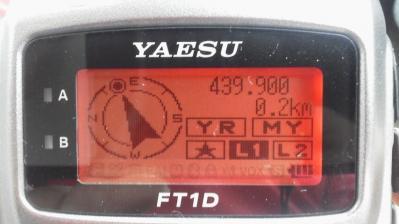 GPS バックトラック機能