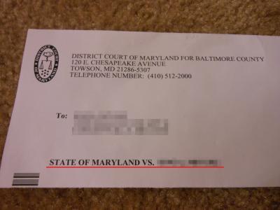 裁判所からの手紙①