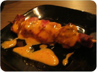 ハラミ味噌マヨ(串)