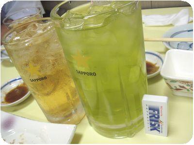 メガ緑茶ハイ