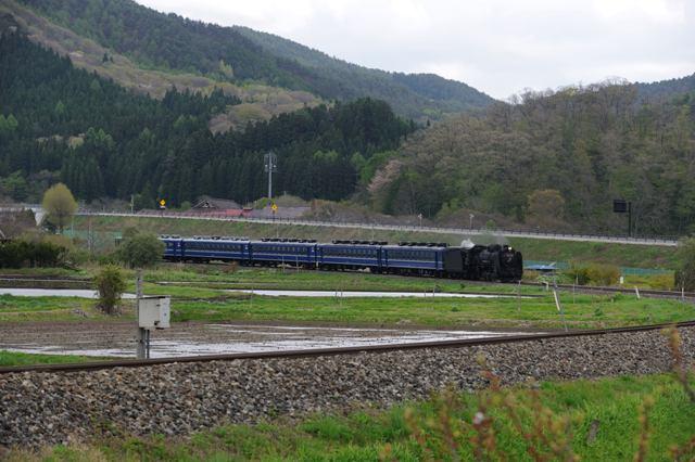 釜石線 D51498 平倉カーブ