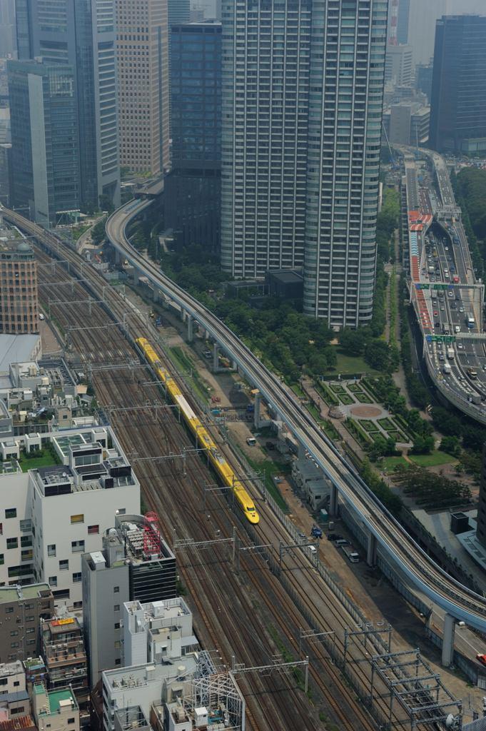 東海道新幹線 ドクターイエローT4編成(回送) WTC