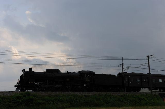 上越線 C6120 渋川市八木原