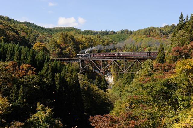 只見線 C11325 滝谷川橋梁